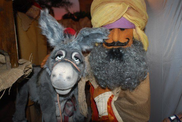 Jala the donkey with the Magus