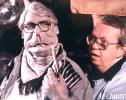 Puppeteering then Prime Minister John Major, Spitting Image